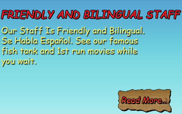 Friendly And Bilingual Stafff